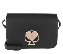 Umhängetasche Nicola Twistlock Crossbody Bag Black