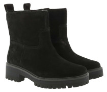 Boots Courmayeur Valley Faux Fur Bootie Jet Black
