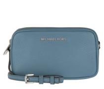 Bedford MD Double Zip Umhängetasche Bag Denim blau