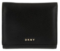 Trifold Wallet Wit Black Portemonnaie