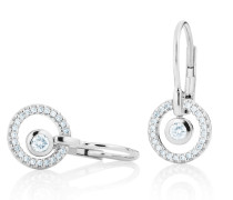 Ohrringe Earring Glam Motion White Gold