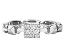 Ring MKC1027AN040 Stacking Mercer Link Silver