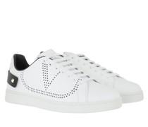 Sneakers Men Backnet Leather White/Black
