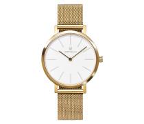 Uhr Ladies Analogue Watch Felicity Gold