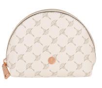 Celina Cosmetic Pouch Cornflower PVC Offwhite Pochette