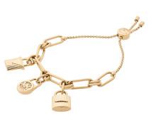 Logo Lock Charm Bracelet Schmuck