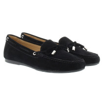 Sutton Moccasin Suede Black Schuhe