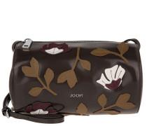Melisa Shoulder Bag Small Polish Fiore Dark Grey Umhängetasche braun