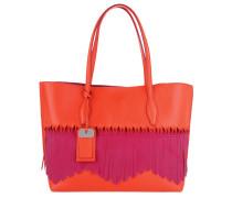 Tasche - Medium Shopping Bag Origami Red/Magenta