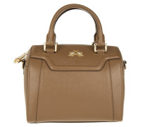 Tasche - La Portena Small Bowling Bag Brown