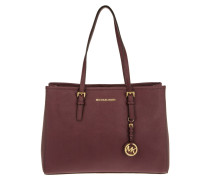 Jet Set Travel LG EW Tote Plum