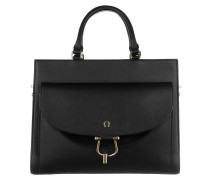 Tote Flora Handle Bag Black