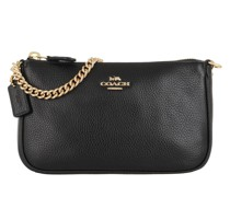 Pochette Nolita 19 Wristlet Pebbled Leather Black