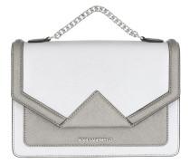 K/Klassik Shoulderbag Silver Umhängetasche