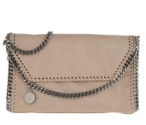 Umhängetasche Falabella Shaggy Deer Mini Shoulder Bag Navy Clotted Cream