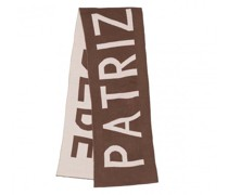 Accessoire Scarf Taupe/Ivory