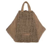 Firenze Nood Detail Tote Tosa Inu Brown braun