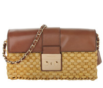 Tasche - Straw Gabriella LG Clutch Walnut