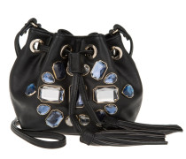 Tasche - Crystal Mini Bucket Bag Black