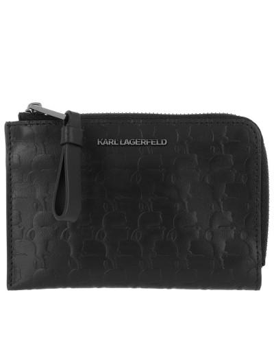 Portemonnaie Kameo Zip Card Holder Black