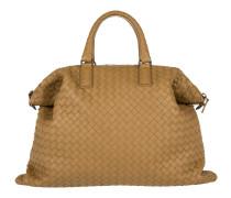 Tasche - Convertible Intercciato Shopping Bag Camel