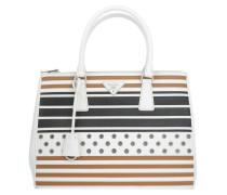 Tasche - Saffiano Lux Galleria Bag Bianco/Caramel
