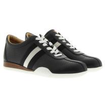 Sneakers - Francisca Perforated Sneaker Black