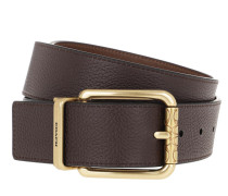 Gürtel Men Cutable Belt Leather Oak/Saddle