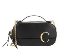 Umhängetasche C Vanity Mini Crossbody Bag Smooth Leather Black