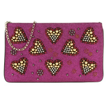 Loubiposh NV Clutch Valentines Glitter