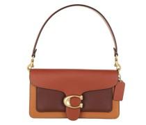 Satchel Bag Colorblock Tabby Shoulder 26 Rust Multi