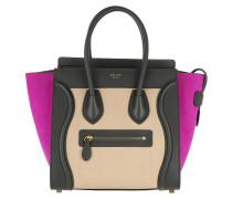 Luggage Tote Multicolor Micro Magenta pink