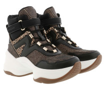 Sneakers Olympia Lace Up Bootie Black Multi