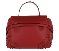 Wave Bag Small Red Satchel