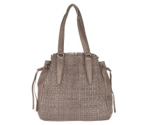 Tasche - Osaki Double Dye Braided Tote Tosa Inu Brown