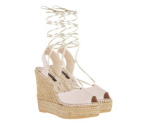 Espandrille Wedge Butterfly Rose Sandalen rosa