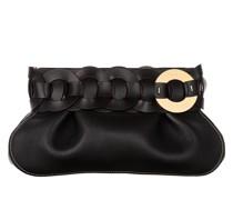 Clutch Darryl Leather Black