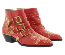 Susanna Nappa Boots Gipsy Red Schuhe