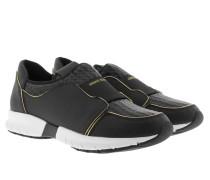 Slip-On Leather Sneaker Nero