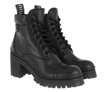Boots & Stiefeletten Booties Leather