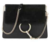 Umhängetasche Faye Mini Flap Shoulder Bag Black