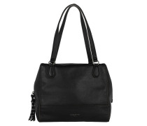Mesa Shoulder Bag Oil Black Tote