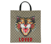 GG Supreme Tote Angry Cat /Ebony