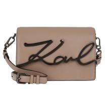 Umhängetasche Karl Signature Shoulderbag Clay