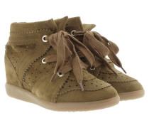 Sneakers - Bobby Sneaker Velvet Stainer Basket Brown