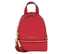 Rhea Zip XS Messenger Backpack Bright Red Rucksack