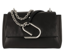 Umhängetasche Alix Soft Chain Bag Black