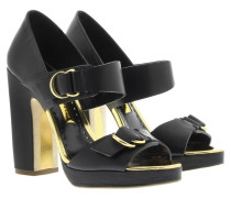 Sandalen - Yurla High Heel Platform Sandal Nero