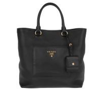 Tasche - Shopping Bag Vitello Daino Nero