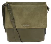 Chambers LG Shoulder Flap Olive Hobo Bag